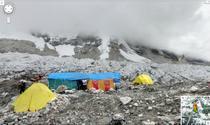 Tabara de baza a Everest, pe Google Street View
