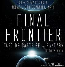 Targul SF & Fantasy Final Frontier 2013