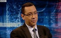 Victor Ponta la BBC