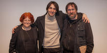 Lia Perjovsch, Yoel Gamzou and Dan Perjovschi