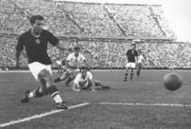 Expozitie cu meciurile Ungaria - Romania