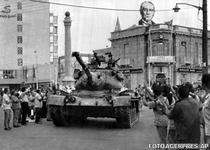 Tanc turcesc in Nicosia (iulie 1974)