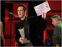 Stefan Banica jr. la Premiile Muzicale Radio Romania