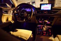 Interior de Audi A7 Sportback