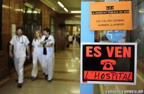 """Spital de vanzare"" (Vall d'Hebron, Barcelona)"