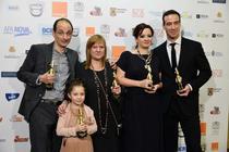 """Toata lumea din familia noastra"" la Premiile Gopo 2013"