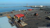 Reparatii pe USS Dwight D. Eisenhower (ianuarie 2013)