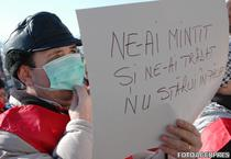 Protest -Posta Romana