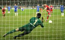 Fotogalerie: Steaua vs Chelsea 1-0