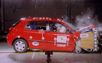 Toyota Corrola 2002 la Euro NCAP