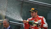Fernando Alonso, invingator in China