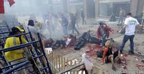 Primele imagini dupa explozie - Boston