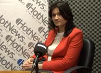 Dr. Nicoleta Vladescu in studioul HotNews.ro