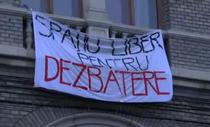 Proteste la UBB