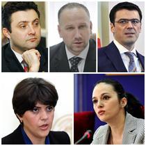 Tiberiu Nitu, Bogdan Licu, Codrut Olaru, Codruta Kovesi, Alina Bica