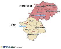 Regiunea Vest si Nord-Vest