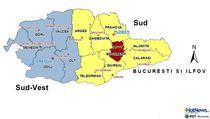 Regiunea Sud si Sud-Vest