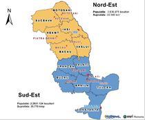 Regiunea Nord-est si Sud-Est