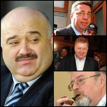 Catalin Voicu / Pe verticala: Marius Locic, Costel Casuneanu, Florin Costiniu