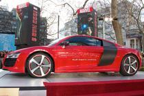 Audi R8 e-tron din Iron Man 3