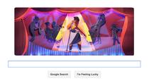 Logo Google pentru Ella Fitzgerald