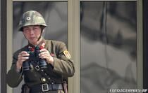 Militar nord-coreean la Panmunjom