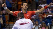 Novak Djokovic, decisiv pentru Serbia