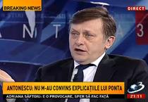 Crin Antonescu, la Antena 3
