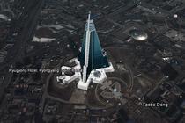 Hotelul are 330 metri inaltime si 105 etaje