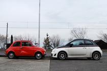 Fiat 500 - vechi si nou