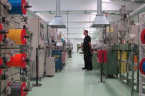 In noua fabrica din Slatina