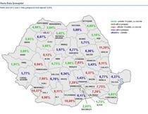 Harta Somajului in luna martie 2013