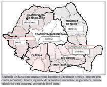 Regiunile de dezvoltare, regiunile istorice si denumirile regiunilor viitoare