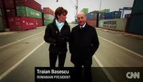 Traian Basescu la CNN