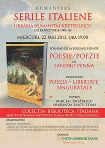 Seara italiana cu Mircea Cartarescu si Smaranda Bratu Elian