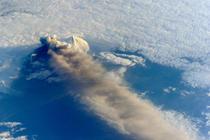 Eruptia vulcanului Pavlof
