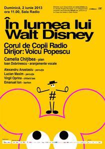 """Concertul """"In lumea lui Walt Disney"""""""
