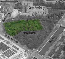 FOTOGALERIE Defrisare Parcul Operei