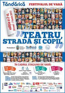"""Festivalul de vara""""Teatru, Strada si Copil"""""""