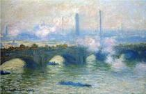 Tablou din seria Waterloo Bridge, Claude Monet