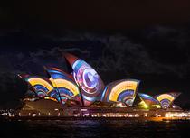 Opera din Sydney, acoperita de proiectii animate