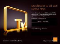 Invitatie Orange Romania