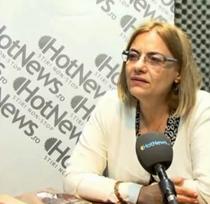 Denisa Comanescu, in studioul HotNews.ro