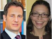 Thomas Stauffer si Irina Bejan