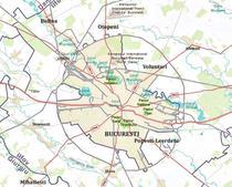Harta Bucurestiului