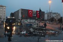 Politia turca a evacuat manifestantii