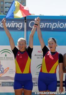 Cristina Grigoras si Andreea Boghian au cucerit aurul la dublu rame