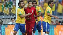 Brazilia, victorie cu Uruguay