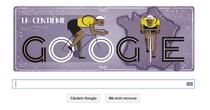 Logo Google pentru Turul Frantei