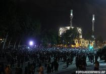 Proteste la Instanbul in noaptea de duminica spre luni